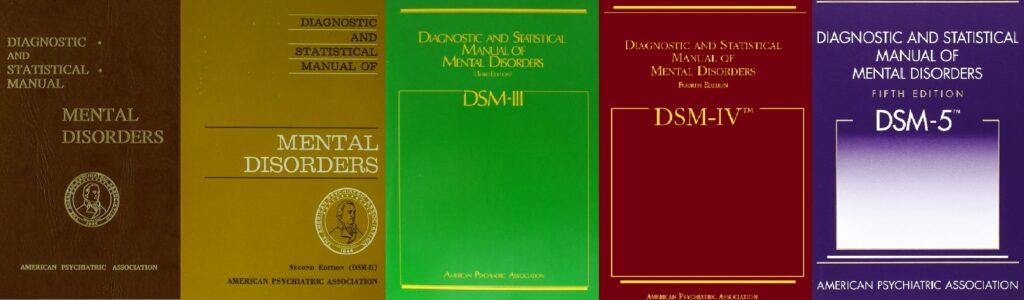 Diagnostic and Statistical Manual of Mental Disorders 1 - 5