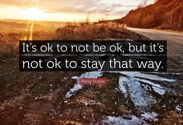 Week 10: I'm...OK