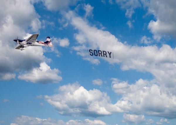 Week 9: Sorry, Not Sorry